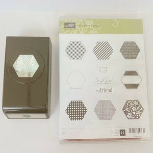 Stampin Up Six Sided Sampler & Punch Bundle Set